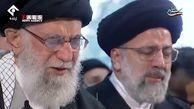 ببینیداشکهای رهبر انقلاب هنگام اقامه نماز بر پیکر شهید سردار سلیمانی