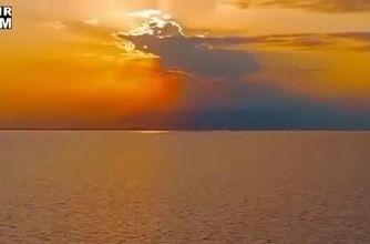 فیلم دیدنی از بازگشت دریاچه ارومیه به روز های خوش