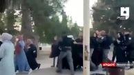 حمله وحشیانه صهیونیستها به زنان فلسطینی