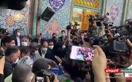 لحظه رای دادن عبدالناصر همتی