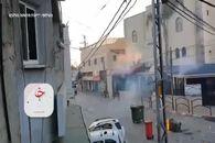 فیلم| جنگ تن به تن مقاومت و اسرائیل آغاز شد